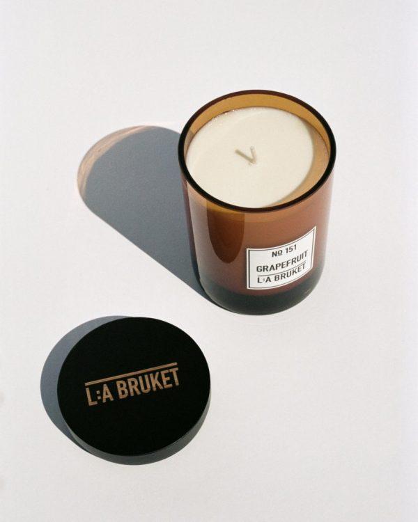 LA Bruket Grapefuit candle
