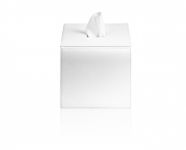 Papiertuchbox white mit Papier
