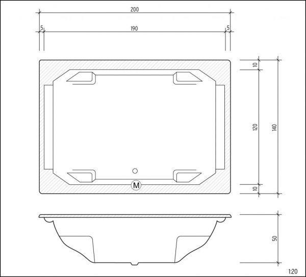 Marbella technische Zeichnung
