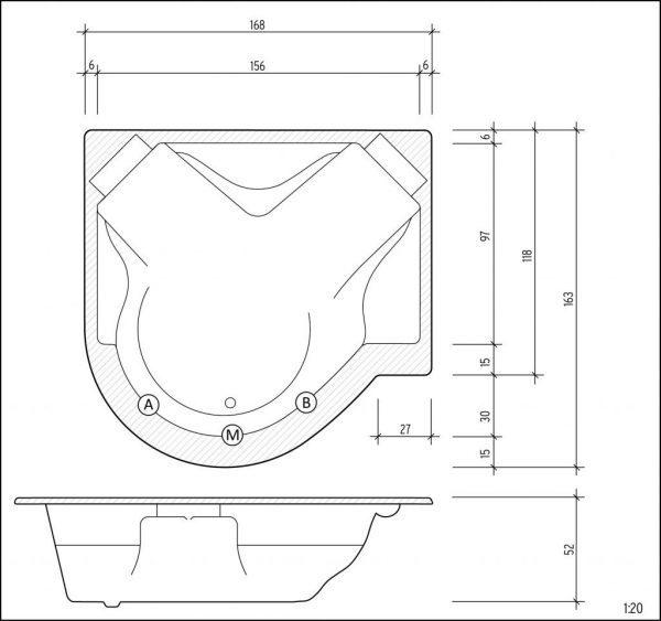 Regina technische Zeichnung