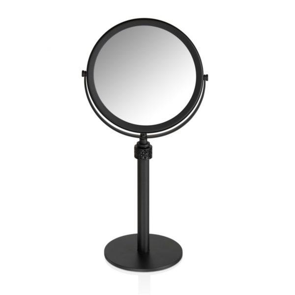 Spiegel Rocks schwarz matt