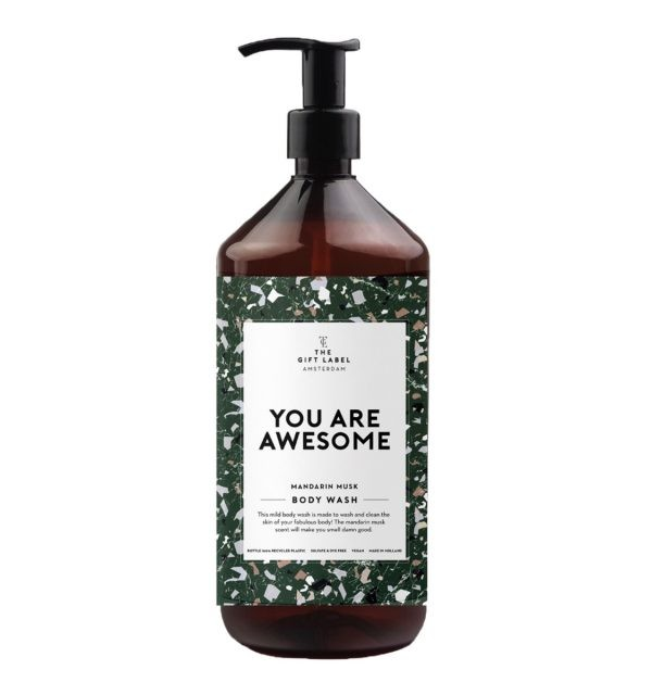 1012712 the gift label body wash you are awesome webpackshot