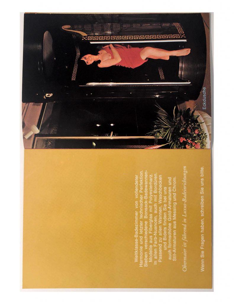 Sieben verschiedene Bonsack Badewannen 1